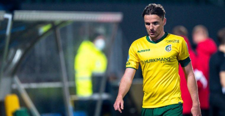 Fortuna-spelers niet blij met arbiter Kooij: 'Ik vind het double punishment'