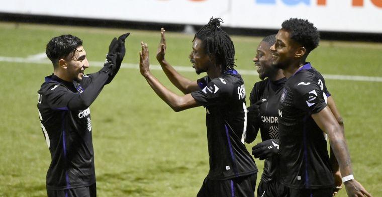 Anderlecht heeft nog geen ploeg om kampioen mee te spelen