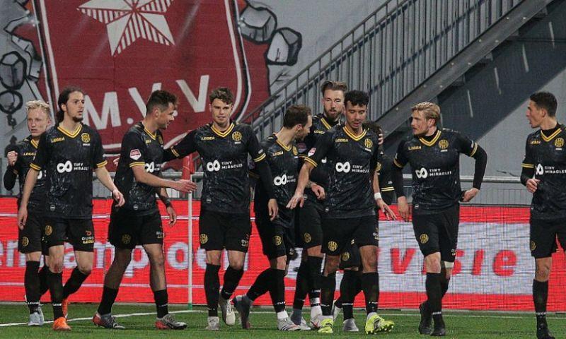 Afbeelding: Roda JC maakt 2-0 achterstand ongedaan in derby tegen MVV, punt voor Almere