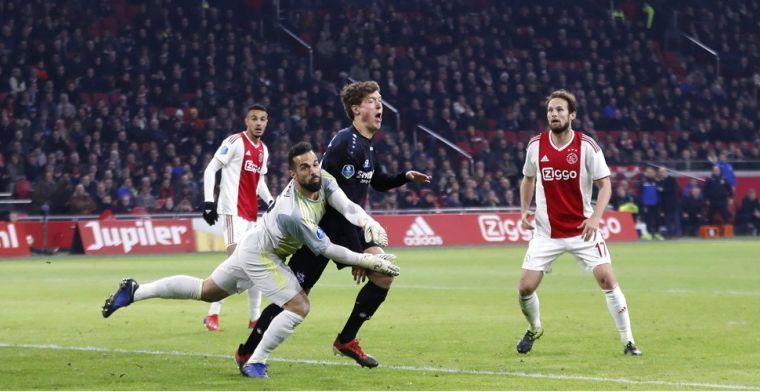 Lamprou open over moeilijke tijd bij Ajax: 'Wist dat ik een zwakke schakel was'