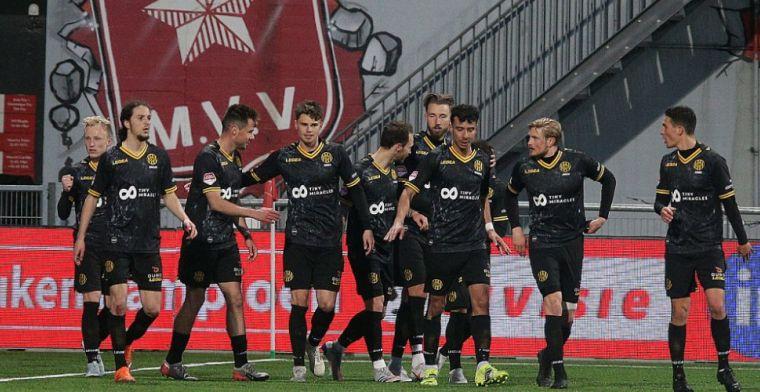 Roda JC maakt 2-0 achterstand ongedaan in derby tegen MVV, punt voor Almere