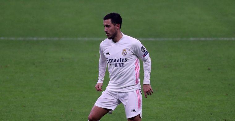 UPDATE: Real Madrid reist zonder Hazard af naar LIverpool