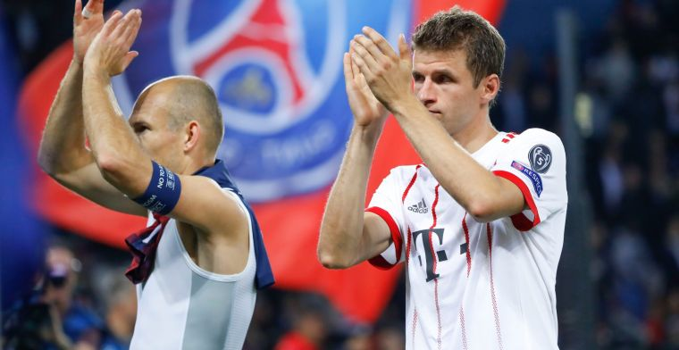 Buitenspel: Müller vraagt Robben terug voor Champions League-return Bayern