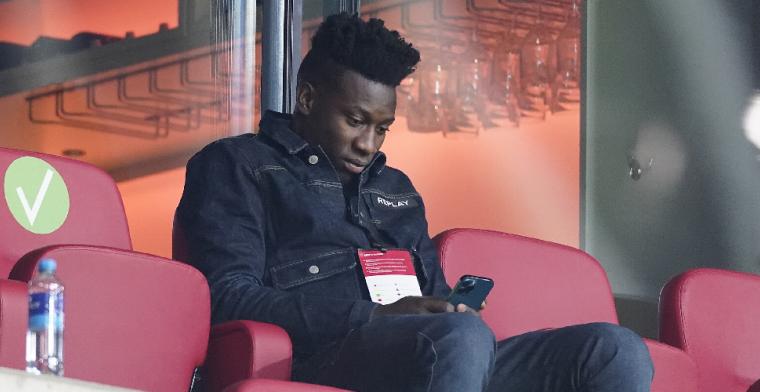 Onana-meevaller voor Ajax: 'Verwachting dat hij komende jaren nog onder lat staat'