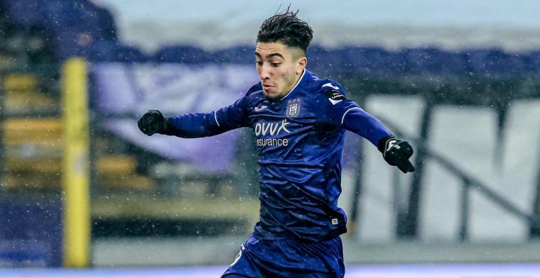 El Hadj loopt zich te pletter bij Anderlecht: 'Niet slecht voor ventje van 1,74m'