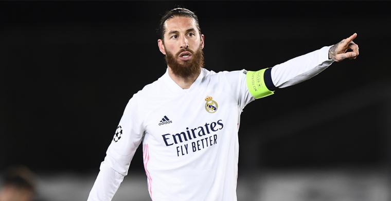 Ramos-seizoen bij Real loopt uit op drama: verdediger test positief op corona
