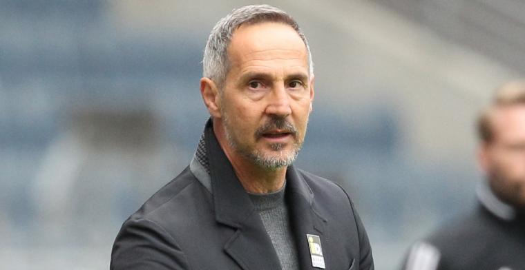 Gladbach presenteert nieuwe trainer, Ten Hag definitief niet naar Duitsland