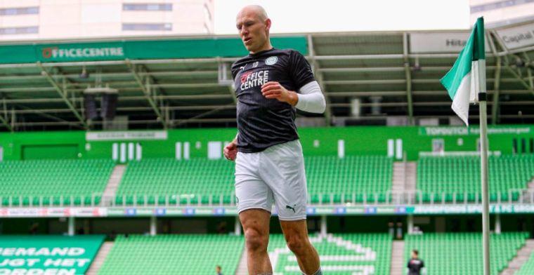 'Belde vrienden: sta in de basis tegen PSV, weet je wie er naast me staat? Robben'
