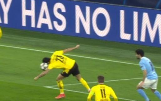 Onfortuinlijk of dom? Can kopt op eigen hand, Mahrez streept penalty in winkelhaak