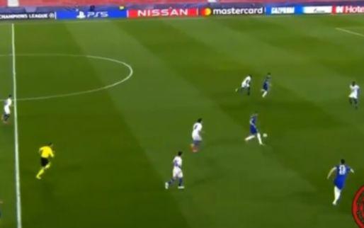 Ziyech krijgt vijf minuten bij Chelsea en tovert direct met prachtige voetbeweging