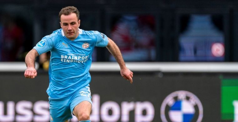 'Götze kan onder bepaalde voorwaarden vertrekken, maar PSV vreest niet'