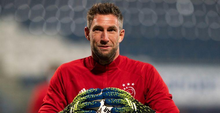 Ajax loopt met aankondiging vooruit op terugkeer van Stekelenburg tegen Roma