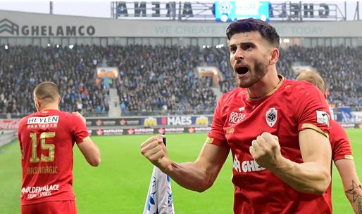 'Lazio Roma gaat aankoopoptie van Hoedt (ex-Antwerp) niet lichten'