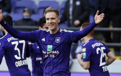 'Anderlecht in financieel geschil met ex-spits Teodorczyk bij arbeidsrechtbank'