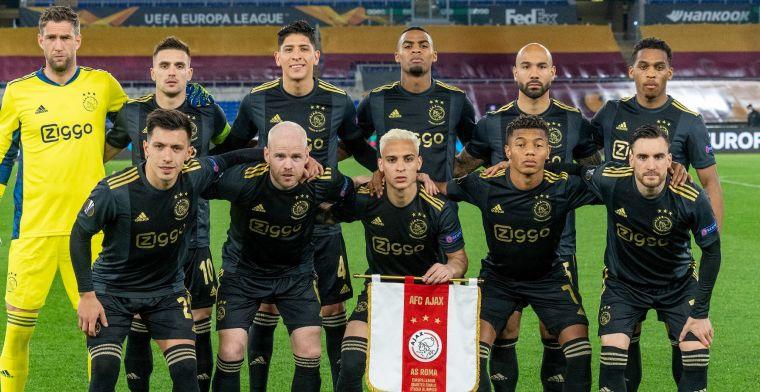 Ajax op rapport: tweemaal 7,5, maar volledige basisvoorhoede onder de maat