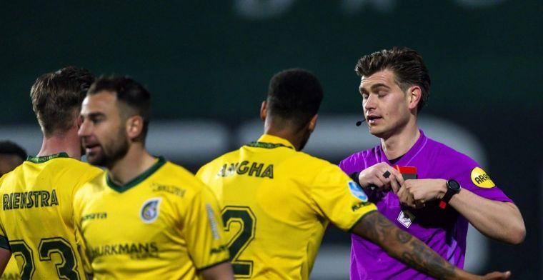Janssen 'brengt scheidsrechter Kooij in diskrediet' en krijgt schorsing van KNVB