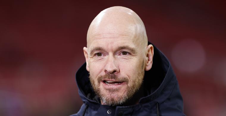 Ten Hag redeneert 'nuchter' bij Ajax: 'Die valt uit, dan zet je de volgende erin'