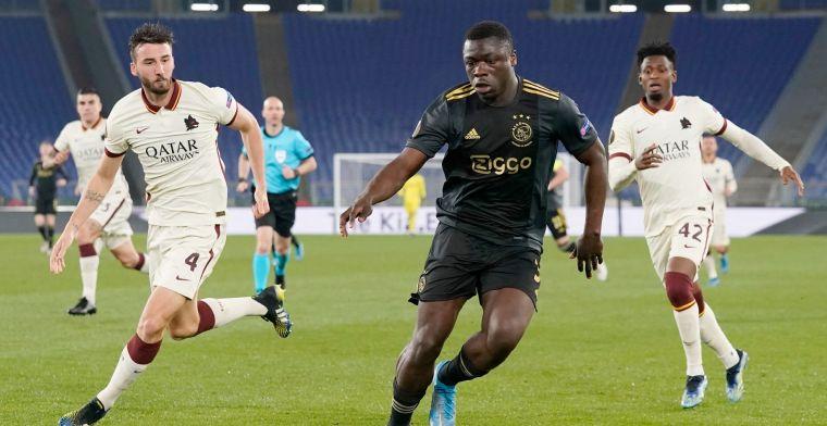 Ajax ziet Europa League-droom uiteenspatten op frustrerende avond bij Roma