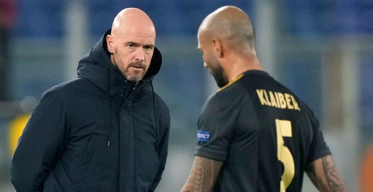 Drama voor Klaiber: snelle wissel bij Ajax, mogelijk weer streep door bekerfinale