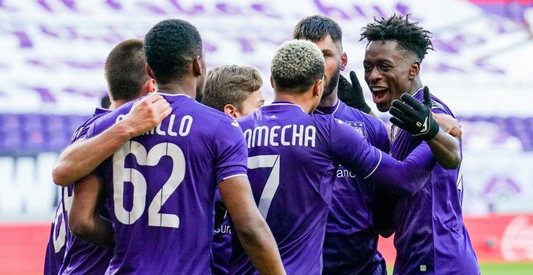 Anderlecht heeft nu tien jaar voorsprong genomen op de rest