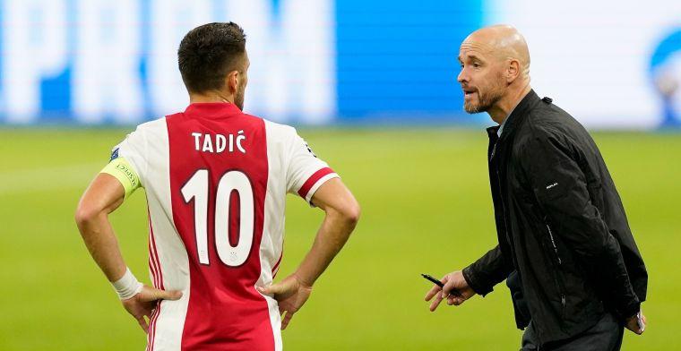 LIVE: Ten Hag en Tadic spreken na Europa League-domper over bekerfinale (gesloten)
