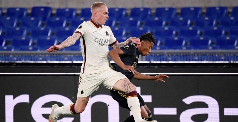 Karsdorp duidelijk: 'Weet niet waarom Ajax over deze wedstrijd gefrustreerd is'