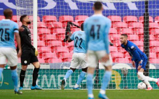 Afbeelding: Quadruple-droom Man City eindigt op Wembley na blessure van De Bruyne