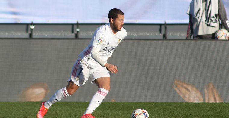 Nog steeds geen spoor van Hazard in selectie van Real Madrid