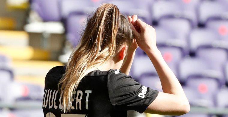 RSC Anderlecht-vrouwen beginnen met valse noot aan Play-Off 1