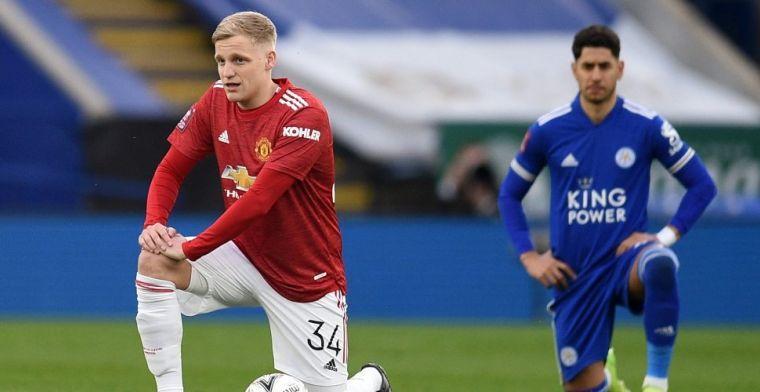 'United verwacht dat Van de Beek 'losgaat' na een stabiele voorbereiding'