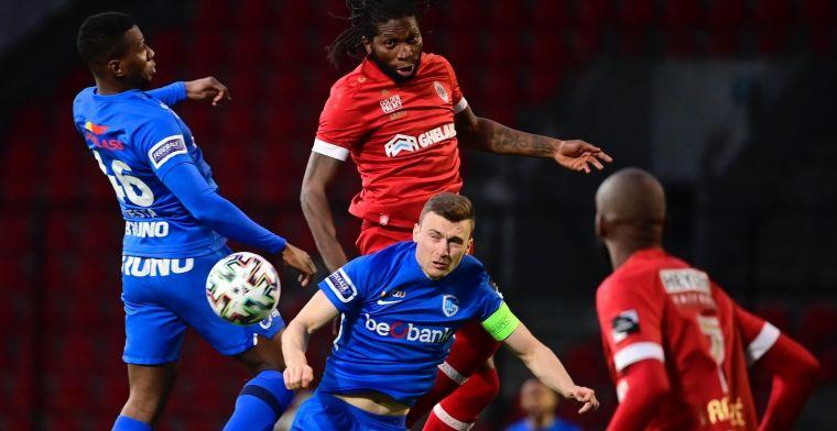 Antwerp gaat als tweede naar Play-Off 1 na knotsgek slot tegen KRC Genk