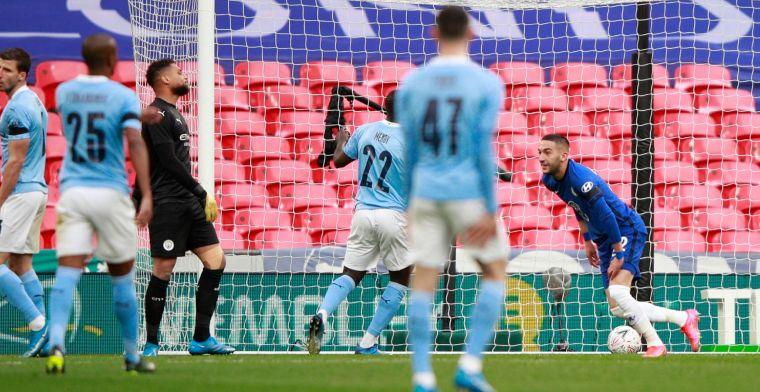 Quadruple-droom Man City eindigt op Wembley na blessure van De Bruyne