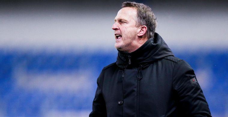 Ontevreden Van den Brom blikt terug op verlies Genk: Niet goed gedaan
