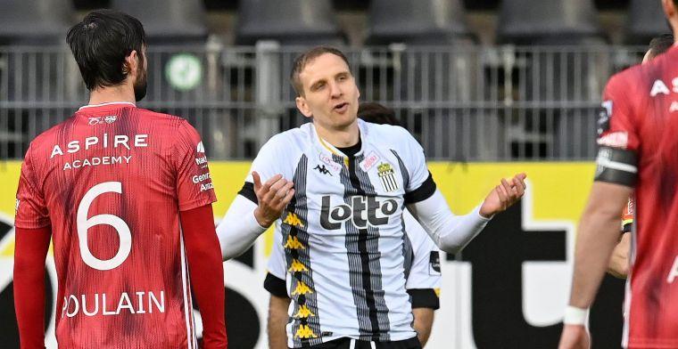 Het zal er niet rustiger op worden, Charleroi verliest van Eupen
