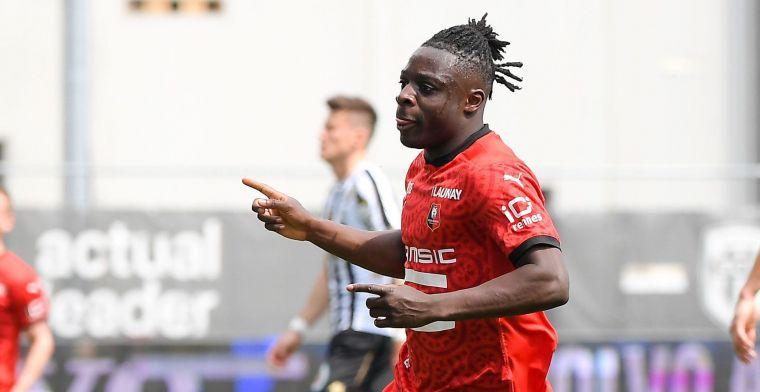 Doku (ex-Anderlecht) schenkt Rennes de zege met tweede seizoenstreffer