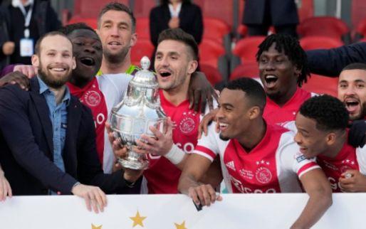 Vangnet voor PSV of AZ, ontsnappingsroute Feyenoord dankzij bekerwinst Ajax