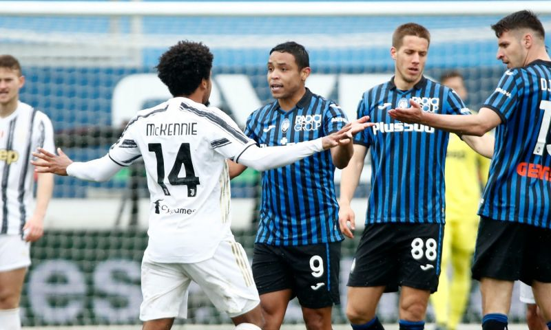 Afbeelding: Malinovsky (ex-KRC Genk) dient Juventus de nederlaag toe