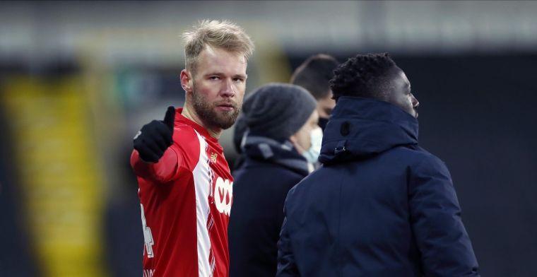 Standard plaatst zich voor Play-Off 2 na makkelijke zege tegen Beerschot