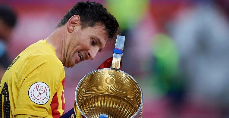 'Barcelona en kamp-Messi gaan om tafel: vader Jorge gesignaleerd bij wedstrijd'