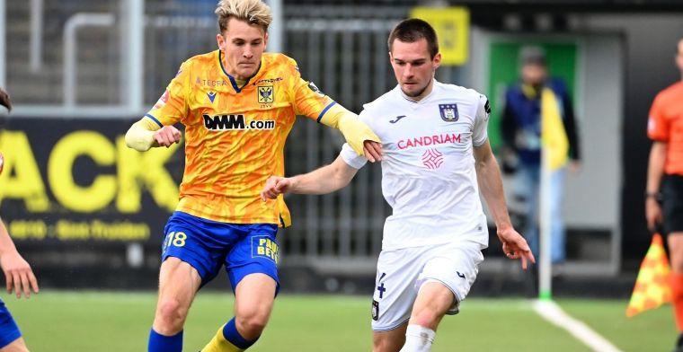 Anderlecht is zeker van Play-Off 1 na zege tegen STVV