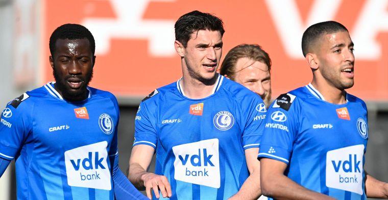 Gent doet beste verhopen voor Play-Off 2: Hele belangrijke match voor de club