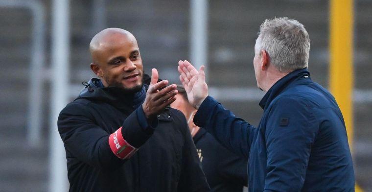 Maes ziet 'verdiende uitslag' tegen Anderlecht: Al verliezen we door fouten