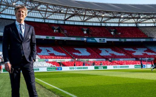 Van der Sar belt 'constant' na Super League-bom: 'Zelfs meteen na bekerfinale'