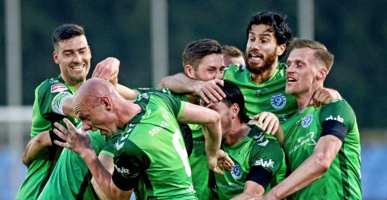 De Graafschap is gehavend Jong PSV de baas en is heel dicht bij Eredivisie