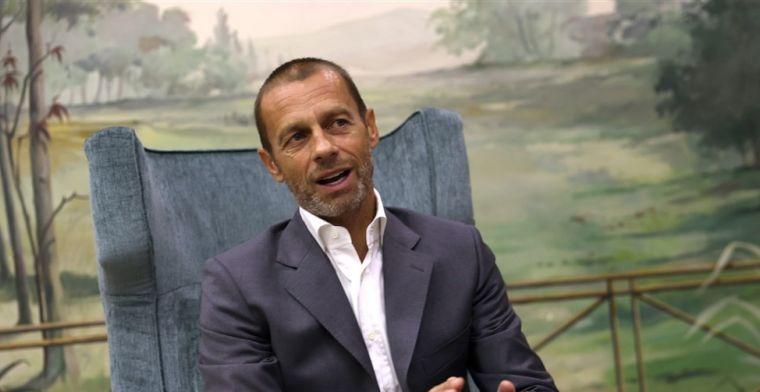 UEFA-voorzitter houdt zich niet in: 'Het is een slang en een grote leugenaar'