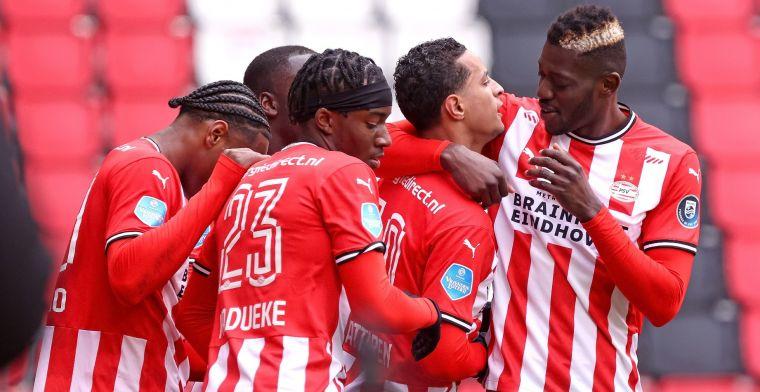 50 miljoen voor PSV, discussie bij Studio Voetbal: 'Druppel op de gloeiende plaat'