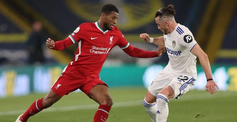 Liverpool loopt averij op tegen Leeds en verzuimt vierde plaats over te nemen