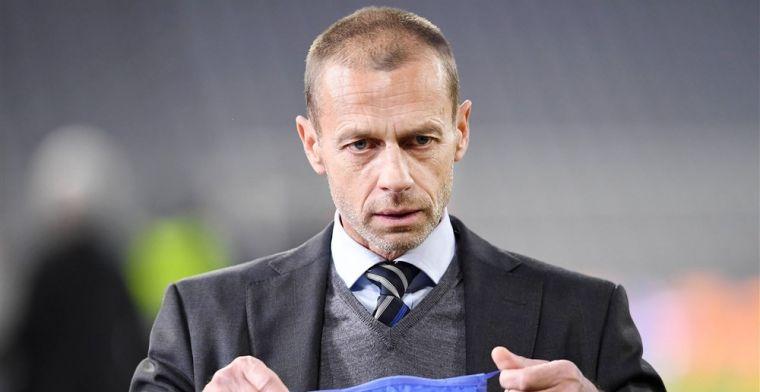 UEFA bevestigt: 'Die spelers worden uitgesloten van deelname aan EK of WK'