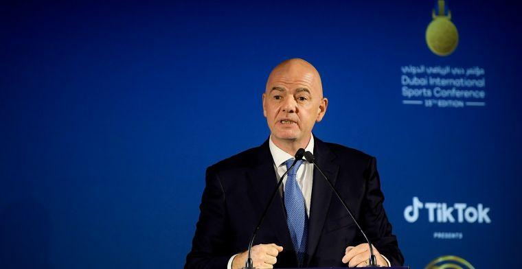 FIFA-baas duidelijk: 'Dan moeten ze leven met de consequenties van hun keuze'