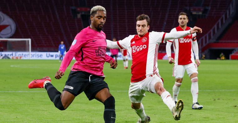 FC Utrecht treft Ajax en Tagliafico: 'Laat zich heel makkelijk vallen, irritant'